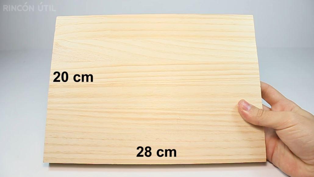 Tablon de madera