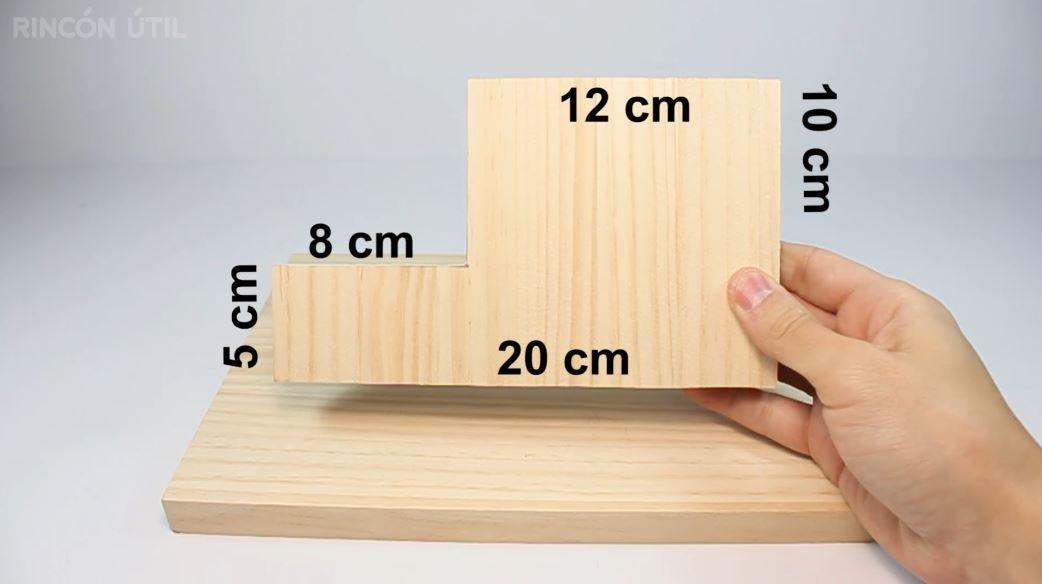 tablon de madera de pino