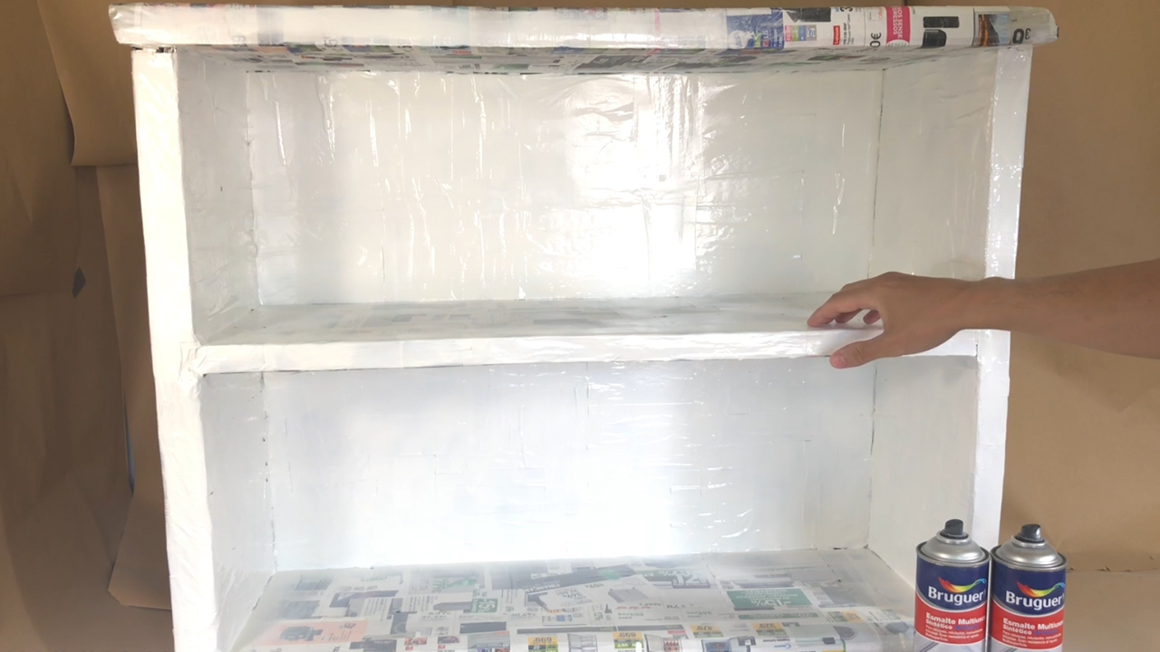 Mueble de Carton Reciclado - 3