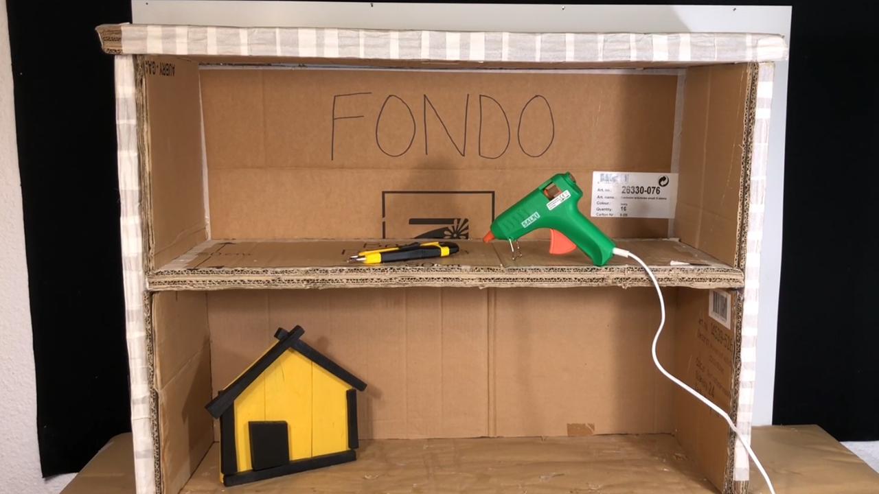 Mueble de Carton Reciclado - 6