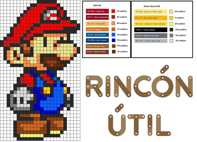 Plantilla Colores Proyecto Mario