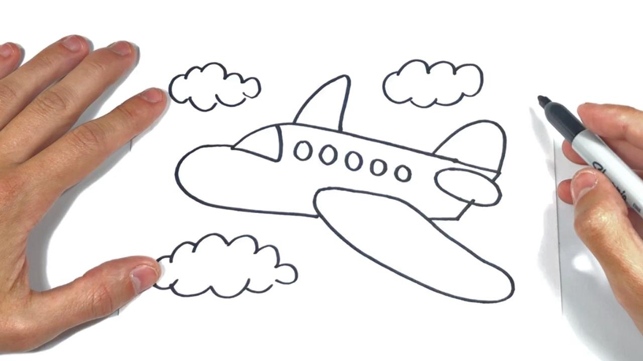Como dibujar un Avion